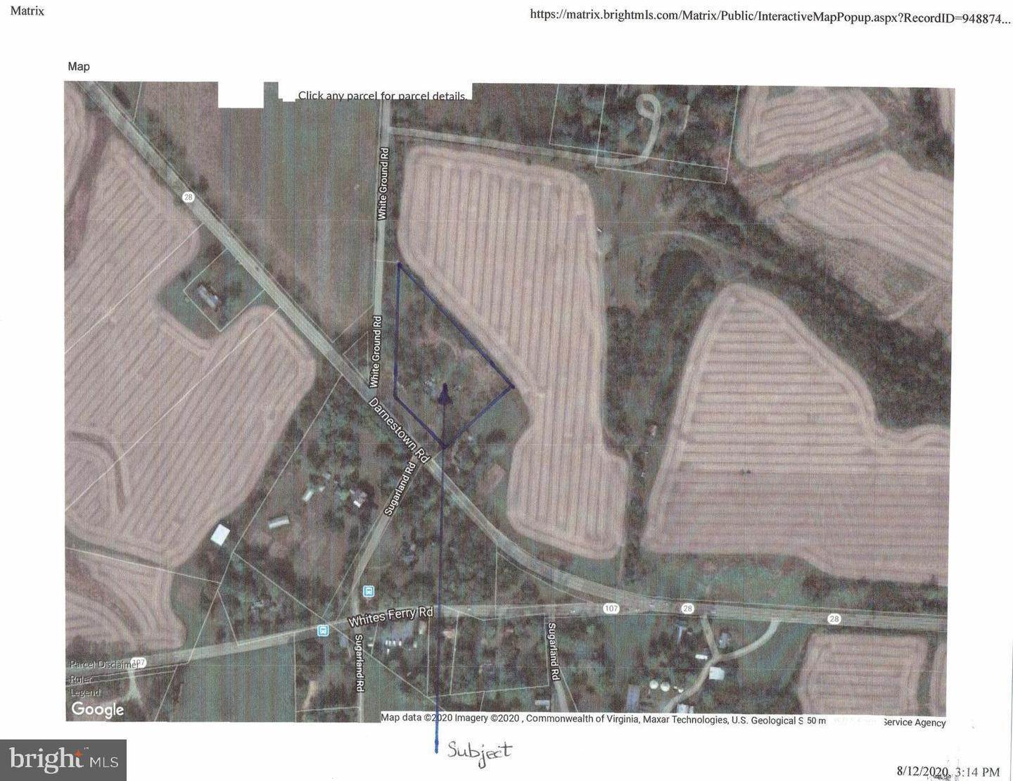 Land for Sale at Boyds, Maryland, 20841 United States
