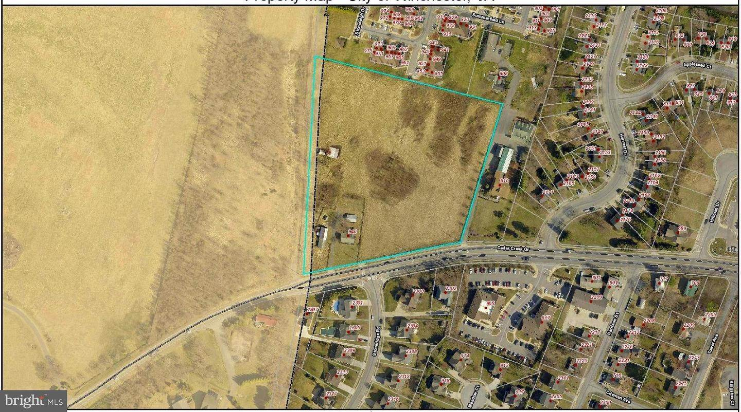 Land for Sale at Winchester, Virginia, 22601 United States