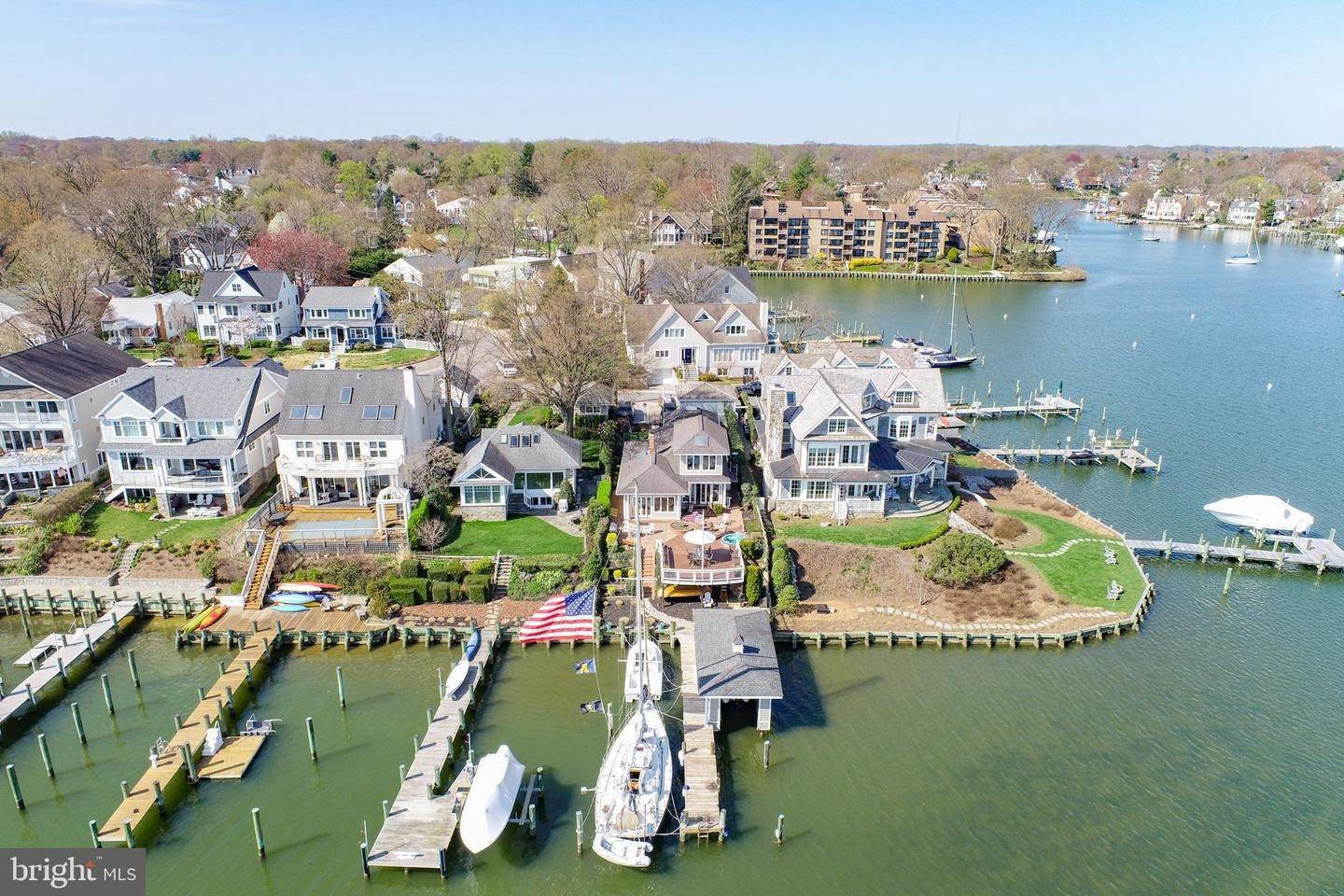 Single Family Homes for Sale at Annapolis, Maryland, 21403 United States