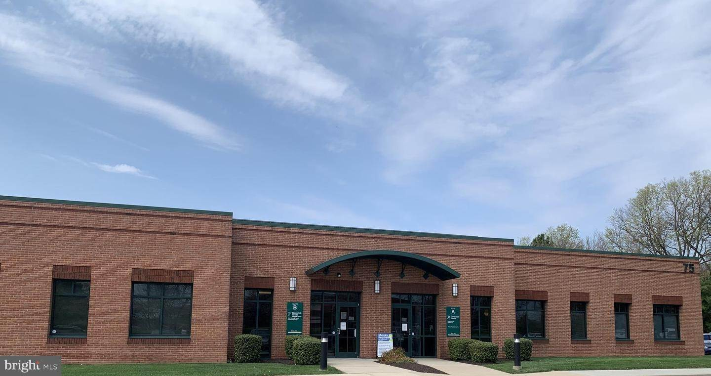 Commercial for Sale at 75 Thomas Johnson Dr #a&Amp;B 75 Thomas Johnson Dr #a&B, Frederick, Maryland, 21702 United States