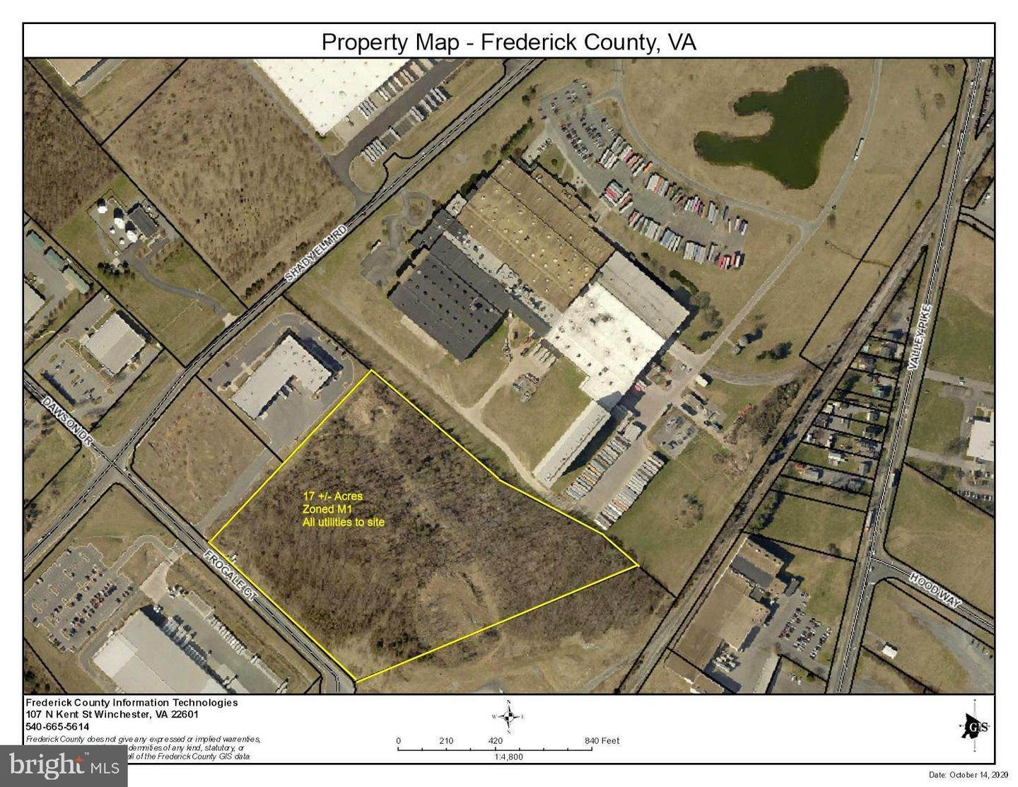 Land for Sale at Winchester, Virginia, 22602 United States