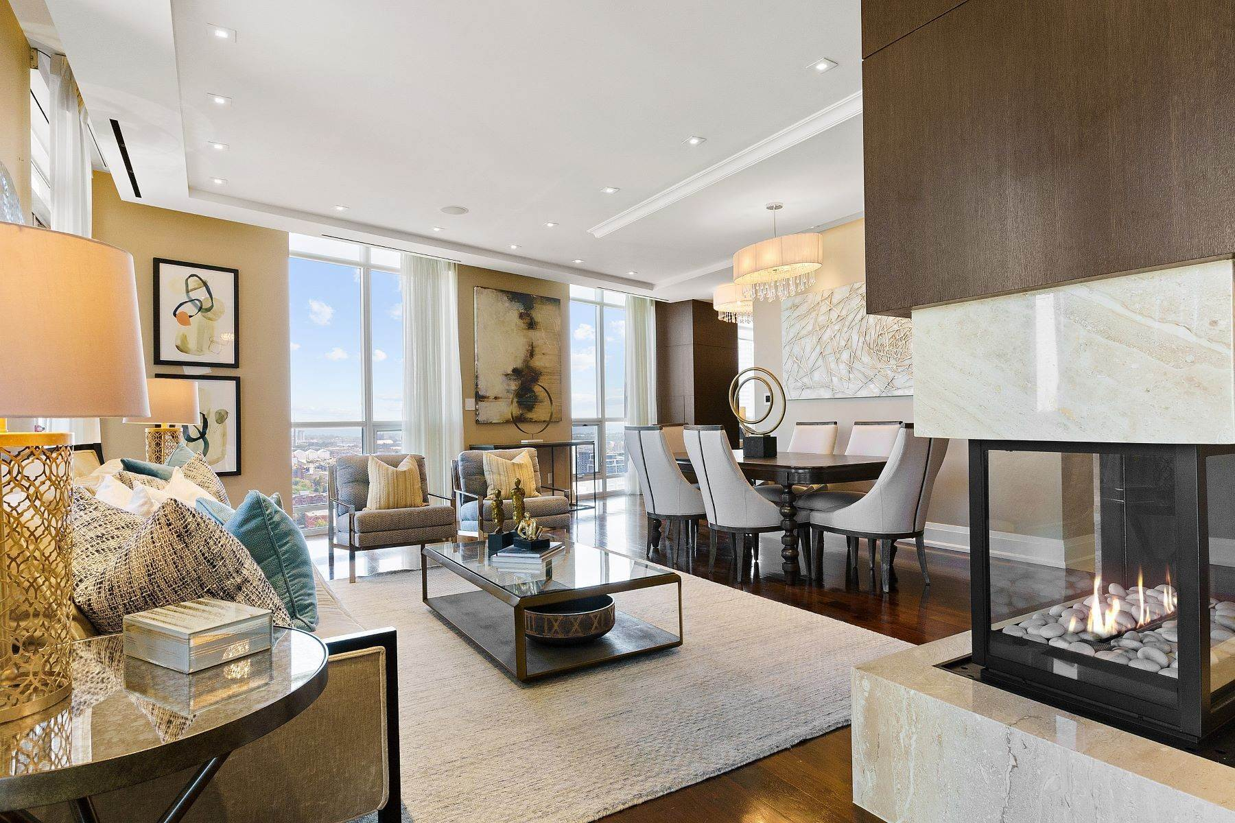 Condominiums per Vendita alle ore London On The Esplanade 1 Scott St Ph03, Toronto, Ontario, M5E1A1 Canada