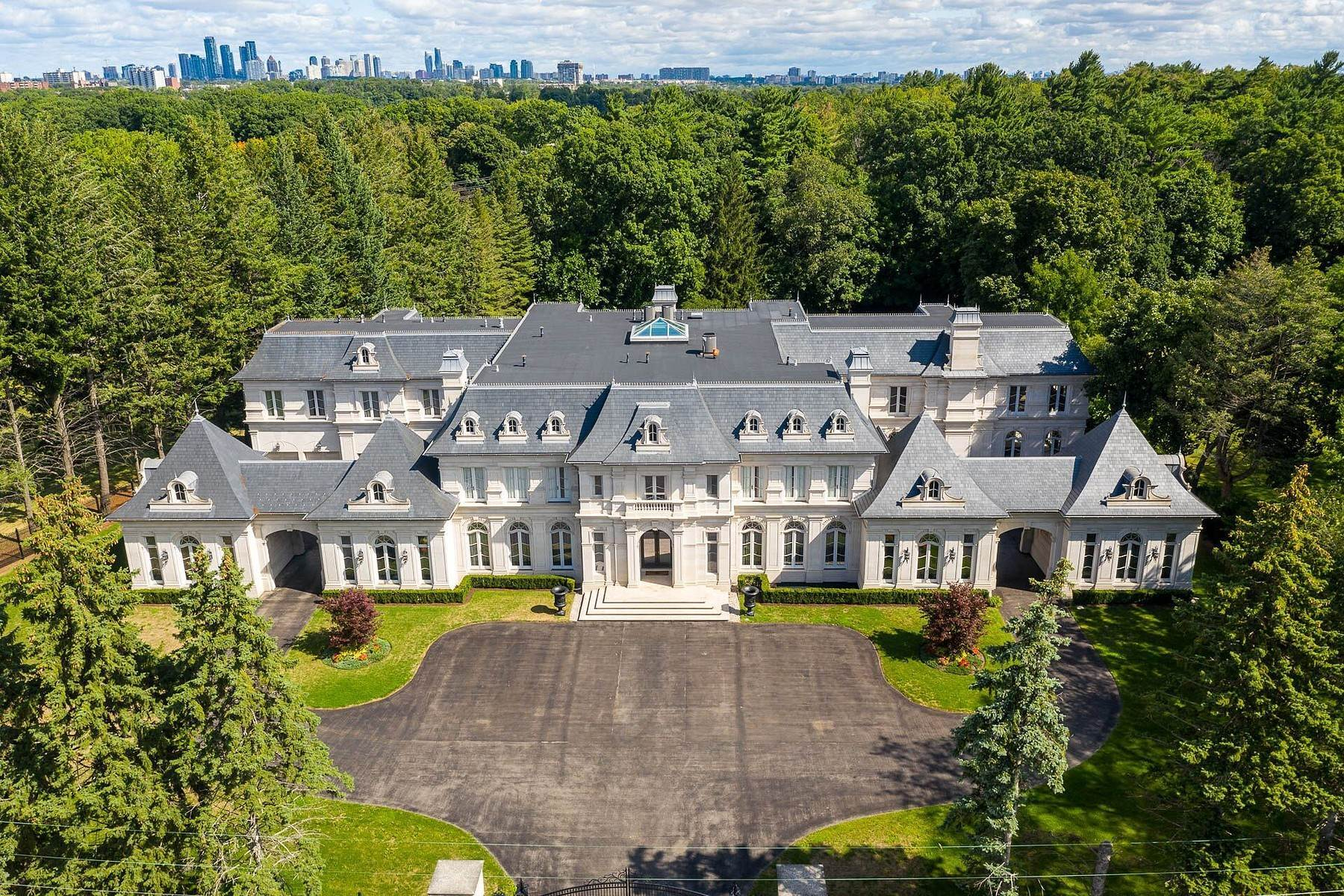 Single Family Homes for Sale at Chateau Inspired Estate 2275 Doulton Drive, Mississauga, Ontario, L5H 3M2 Canada