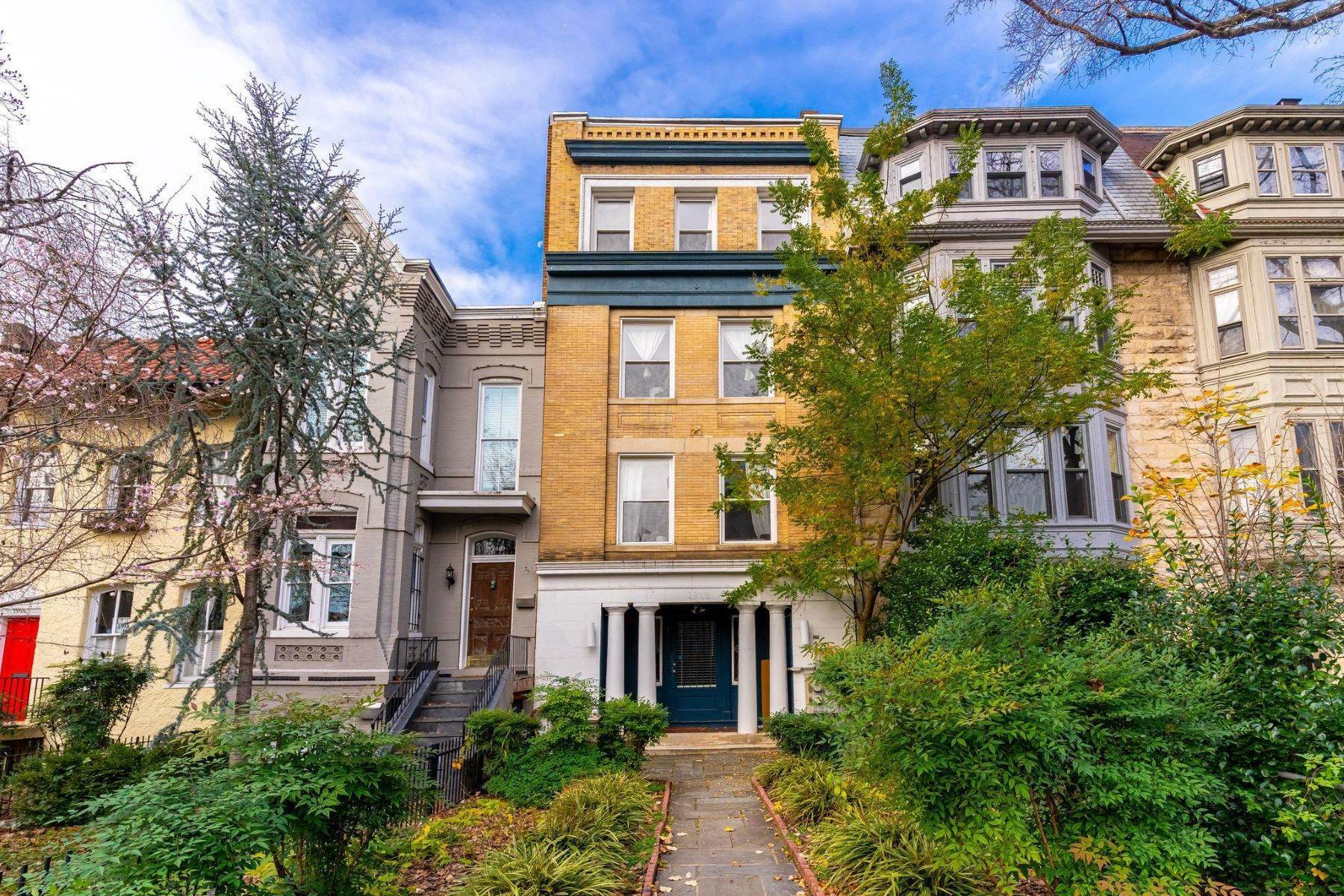 Multi-Family Homes for Sale at Washington, District Of Columbia, 20009 United States