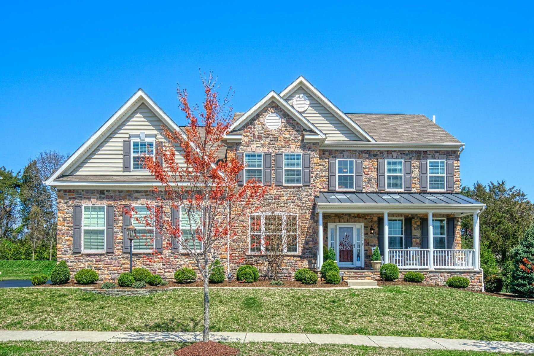 Single Family Homes for Sale at River Pointe Expanded Colorado Model 1404 Balderston Court, Leesburg, Virginia, 20176 United States