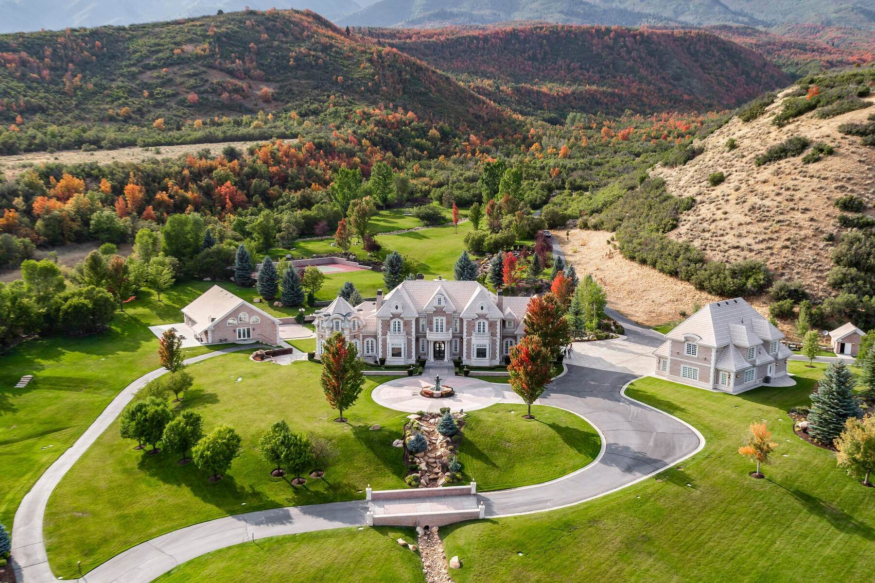Property pour l Vente à Hobble Creek Ranch—Luxury Estate on 3,387 Acres 533 N Left Fork Hobble Creek Cyn, Springville, Utah, 84663 États-Unis