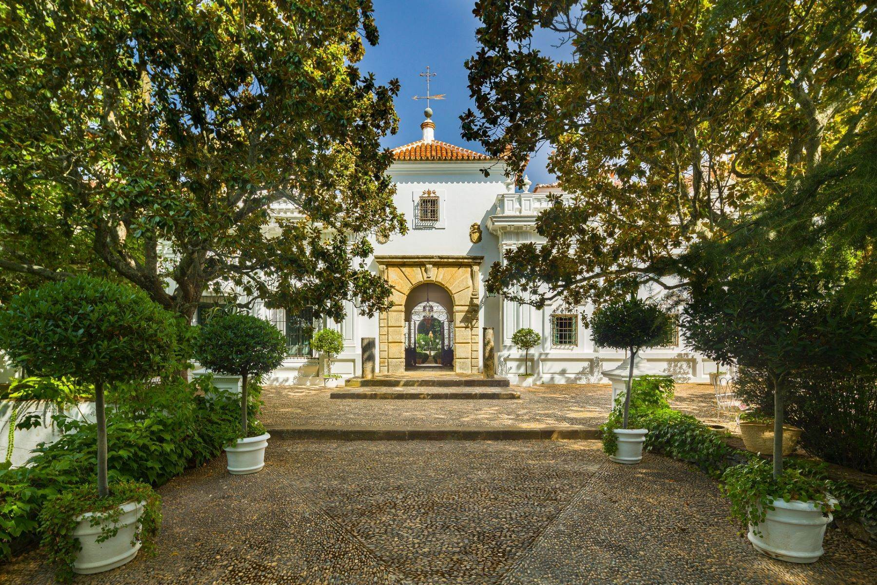 Single Family Homes for Sale at BREATHTAKING ESTATE IN A NATURAL PARK Sevilla, Andalucia, Spain