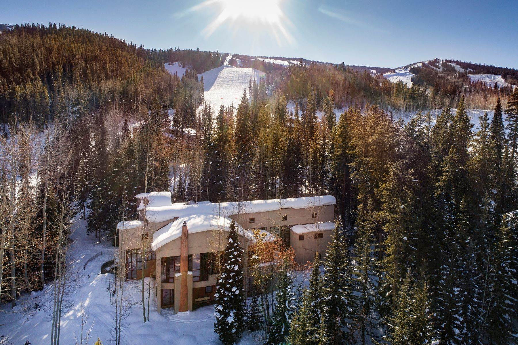 Single Family Homes für Verkauf beim Stunning Mountain Contemporary 84 Pine Lane, Snowmass Village, Colorado, 81615 Vereinigte Staaten