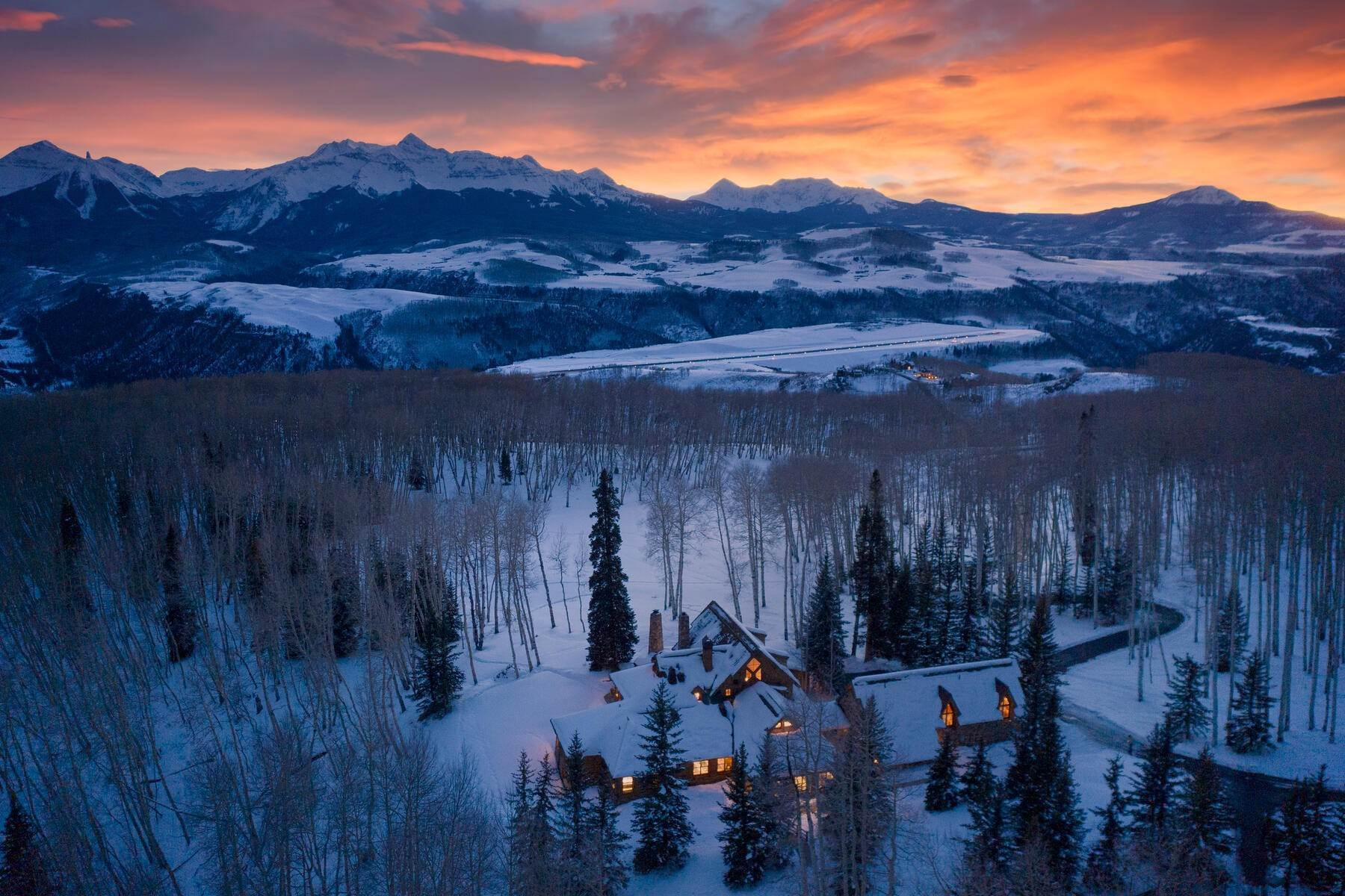 Single Family Homes for Sale at Luxury Meets Legend 115 Francisco Way, Telluride, Colorado, 81435 United States