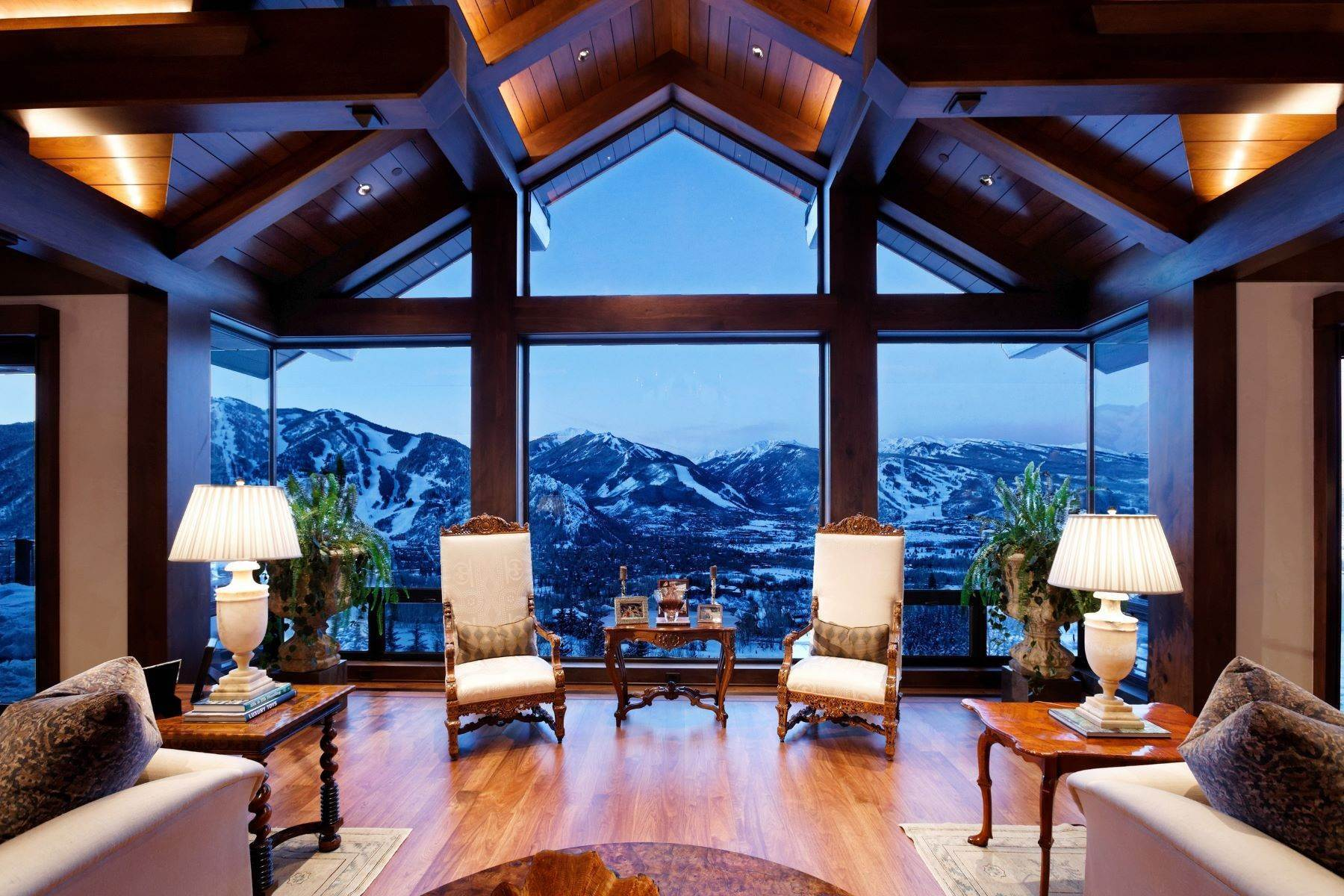 Single Family Homes for Sale at Summit House 155 & 200 Sabin Drive, Red Mountain, Aspen, Colorado, 81611 United States