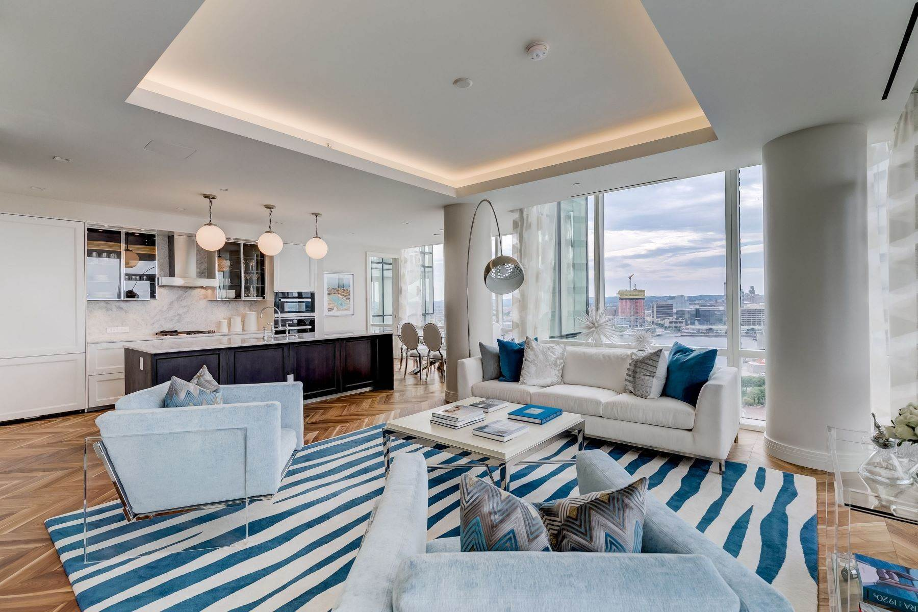 Apartments for Sale at Four Seasons Residences of Baltimore 300 International Drive #2403R, Baltimore, Maryland, 21202 United States