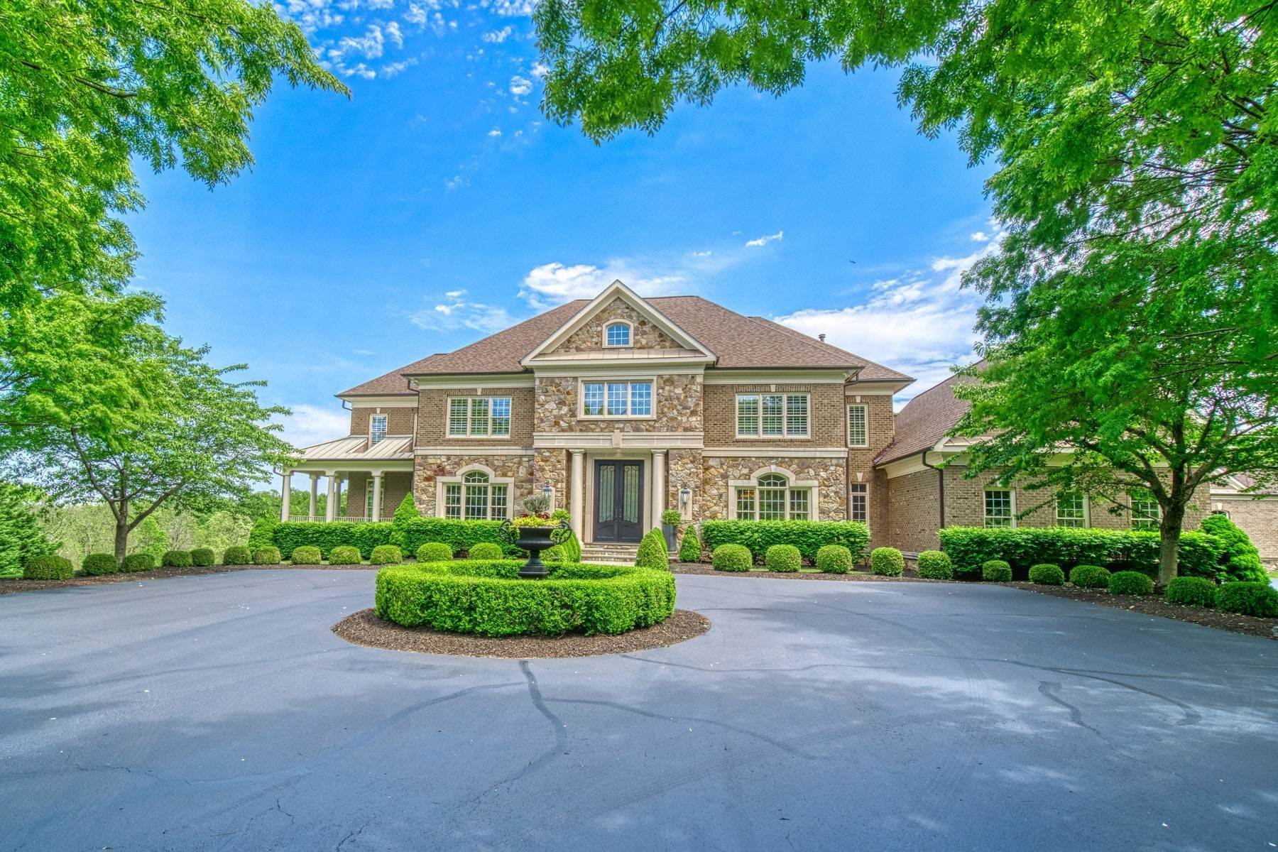 Single Family Homes for Sale at Extraordinary Executive Estate 17050 Silver Charm Place, Leesburg, Virginia, 20176 United States