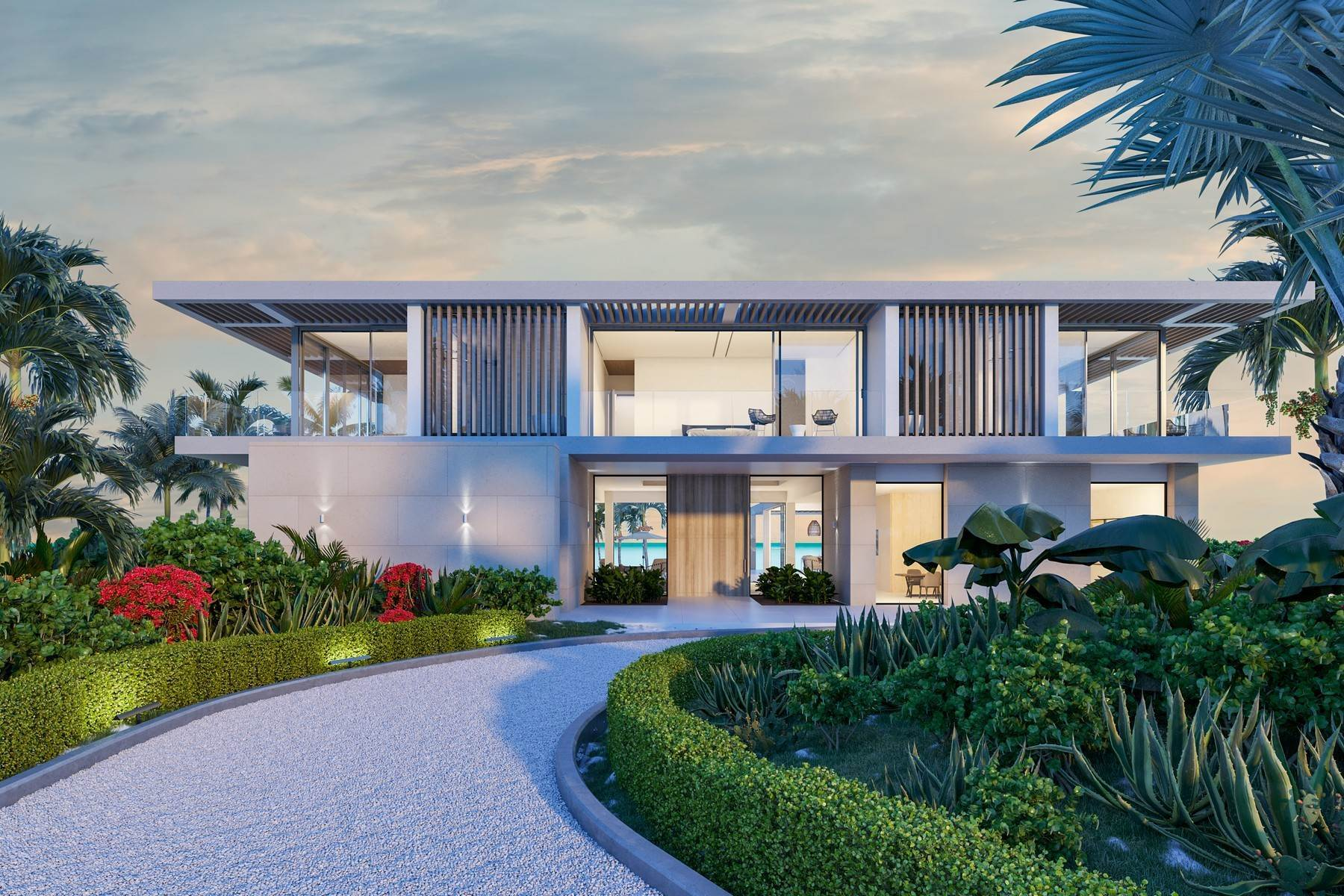 Single Family Homes for Sale at The Peninsula at Emerald Estate - Beach House 2 Emerald Point Beachfront, Leeward, Providenciales, TKCA 1ZZ Turks And Caicos Islands