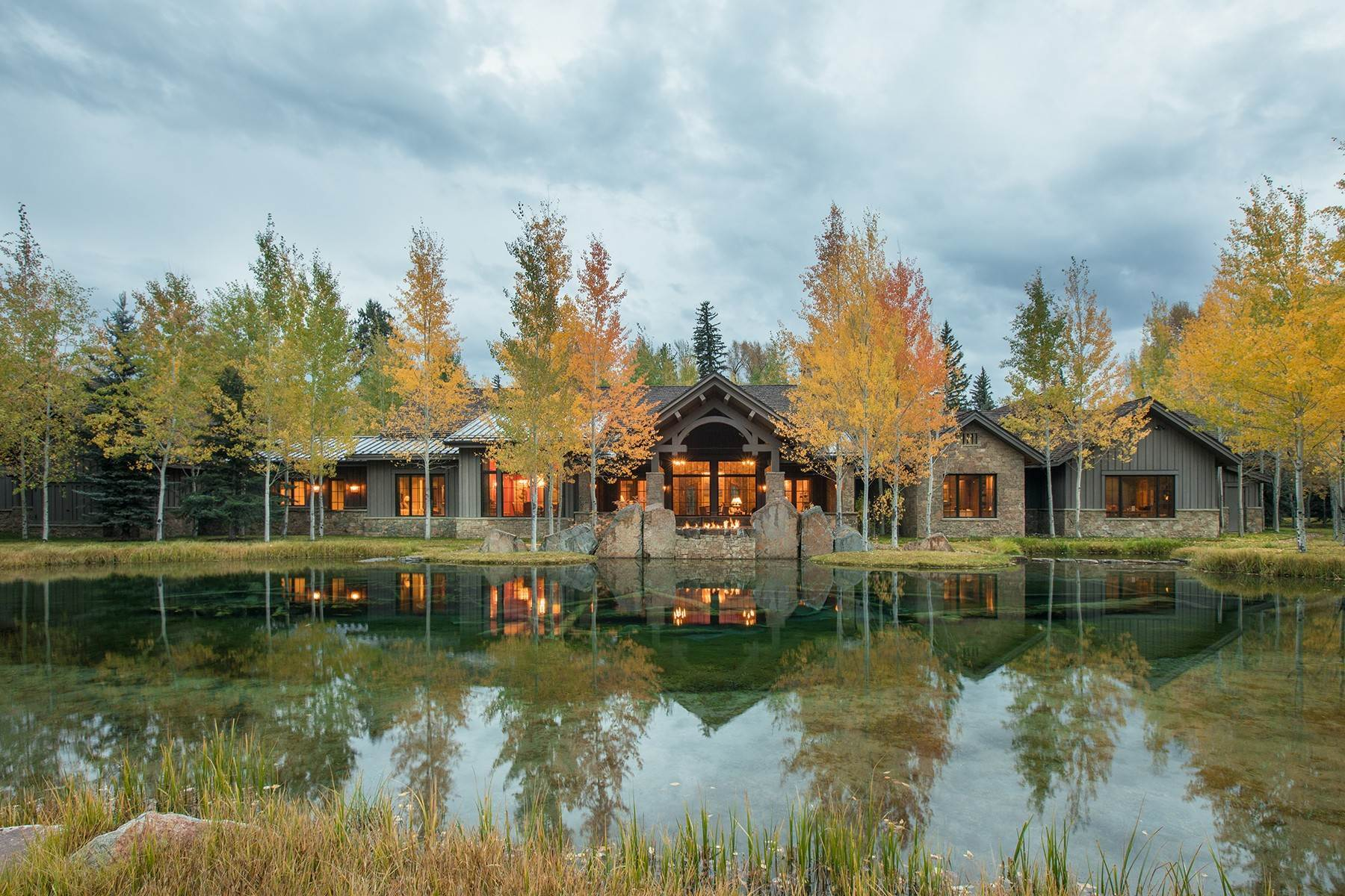 Single Family Homes pour l Vente à Jackson, Wyoming, 83001 Jackson Hole, États-Unis