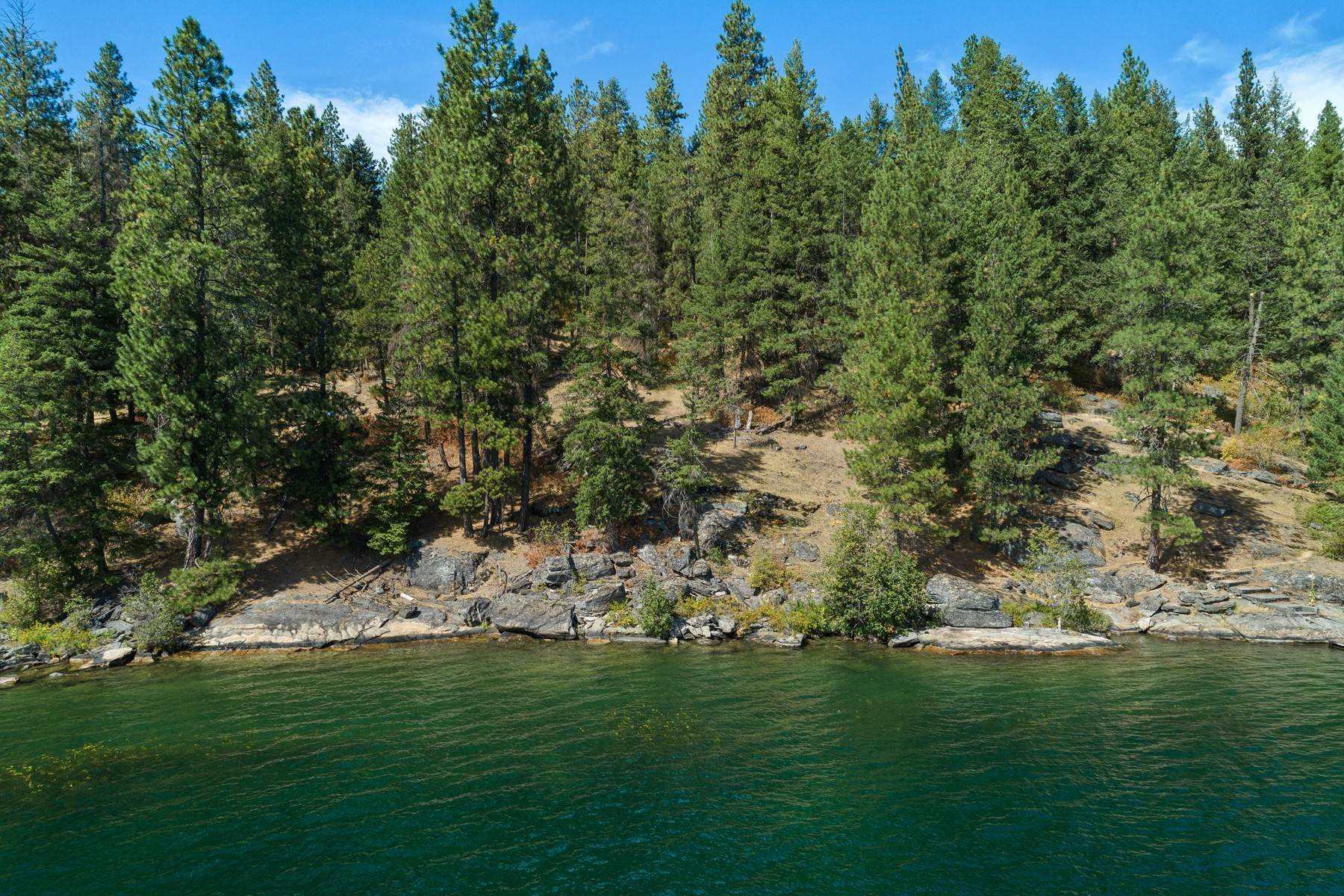 Land for Sale at Stunning Coeur d'Alene Lakefront Lot 5486 W Mica Shore Rd, Coeur D Alene, Idaho, 83814 United States