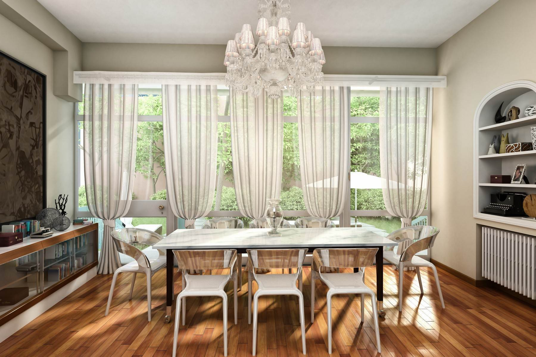 Apartments for Sale at Redeveloped Renaissance: the Garden Apartment in the heart of Rome Rome, Roma, Italy