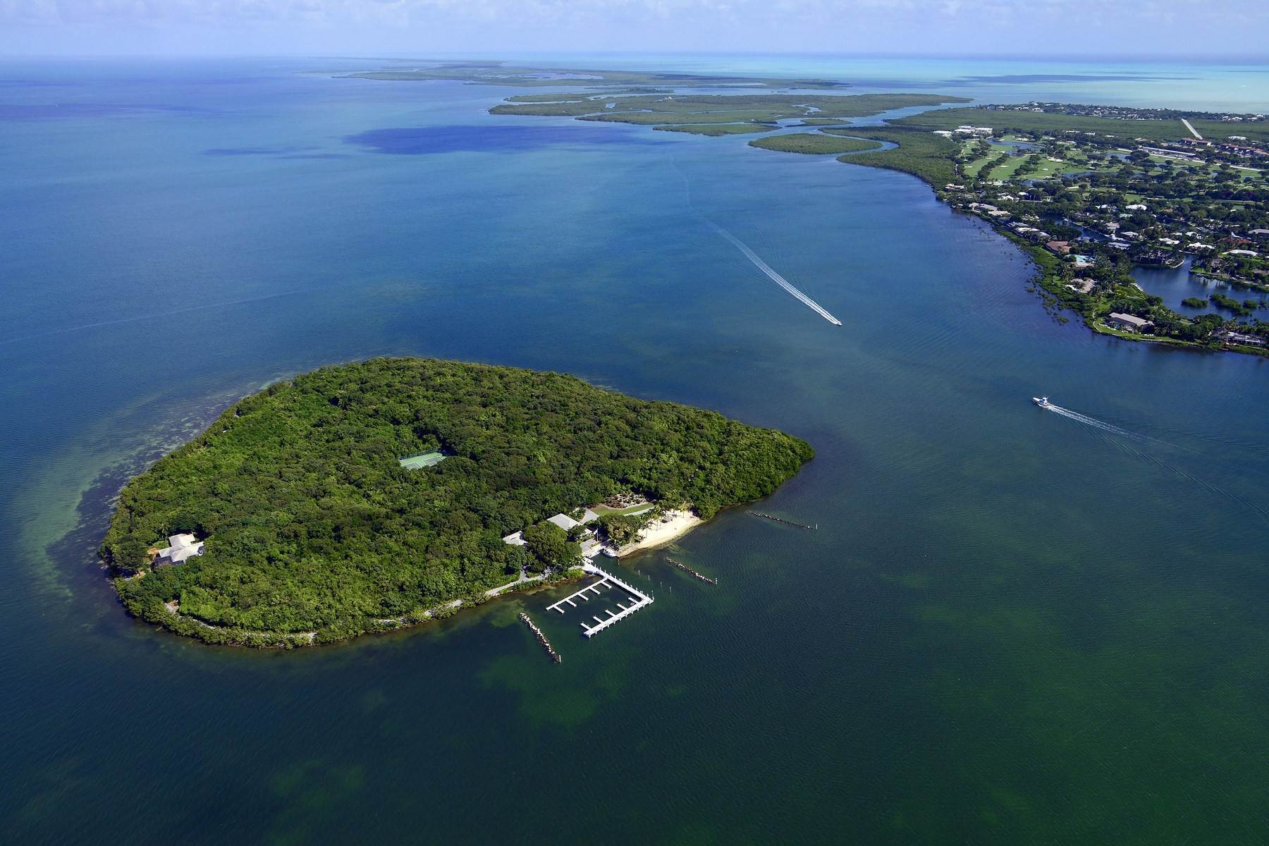 Property 为 销售 在 Pumpkin Key - Private Island, Key Largo, FL Ocean Reef Club, 拉哥, 佛罗里达州, 33037 美国