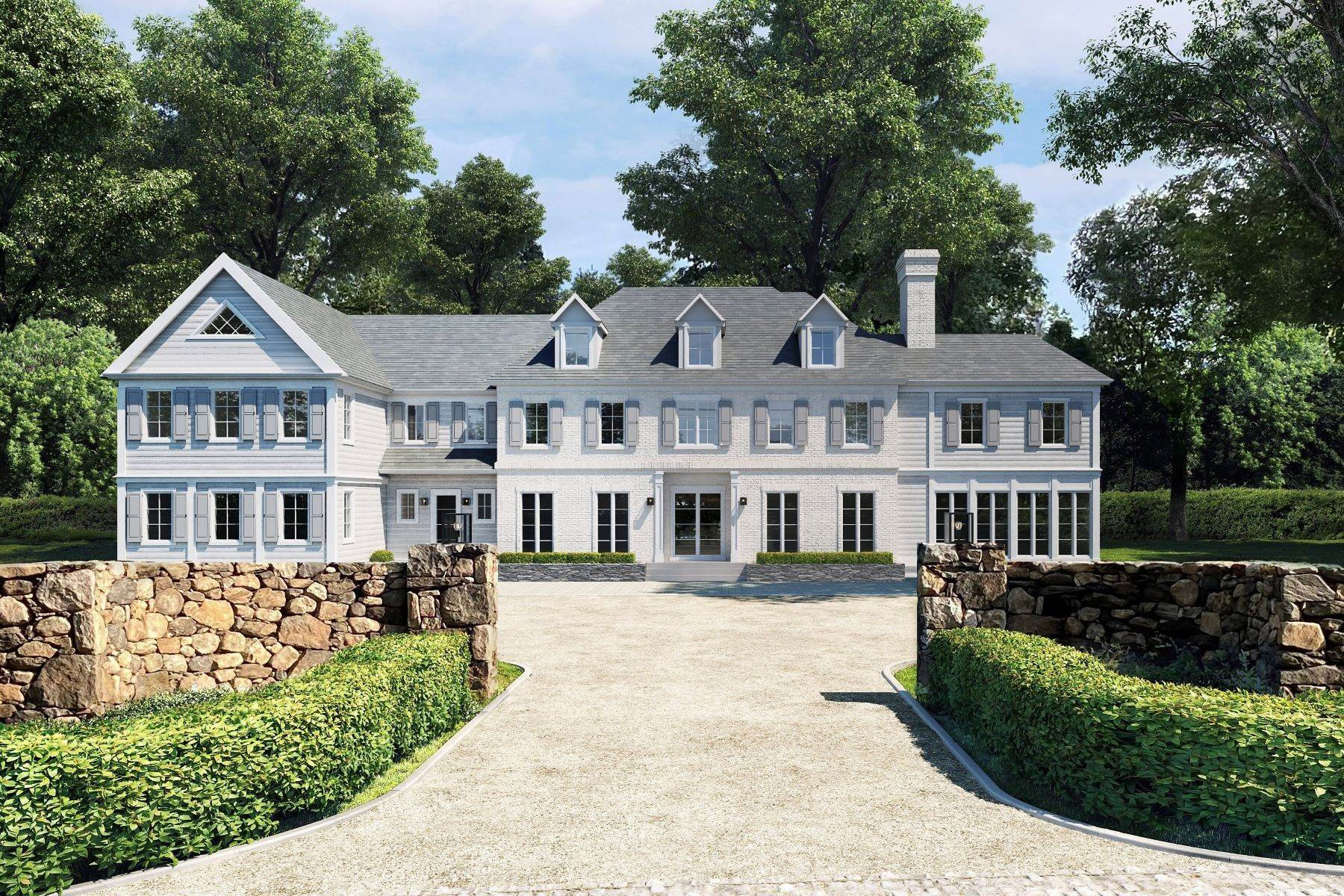 Single Family Homes for Sale at 32 Grahampton Lane, Mid-Country, Greenwich, Connecticut, 06830 United States