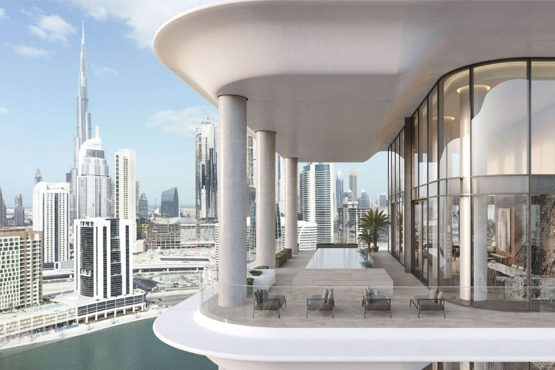 Apartments pour l Vente à Luxury Penthouse at The Dorchester Collection Dubai, Émirats Arabes Unis