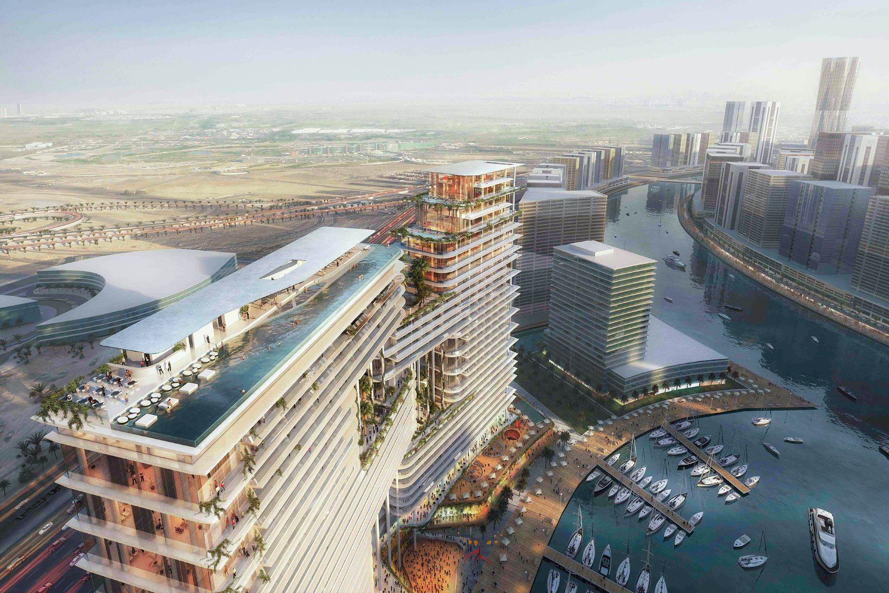Apartments pour l Vente à Super Penthouse at Dorchester Collection Dubai, Émirats Arabes Unis