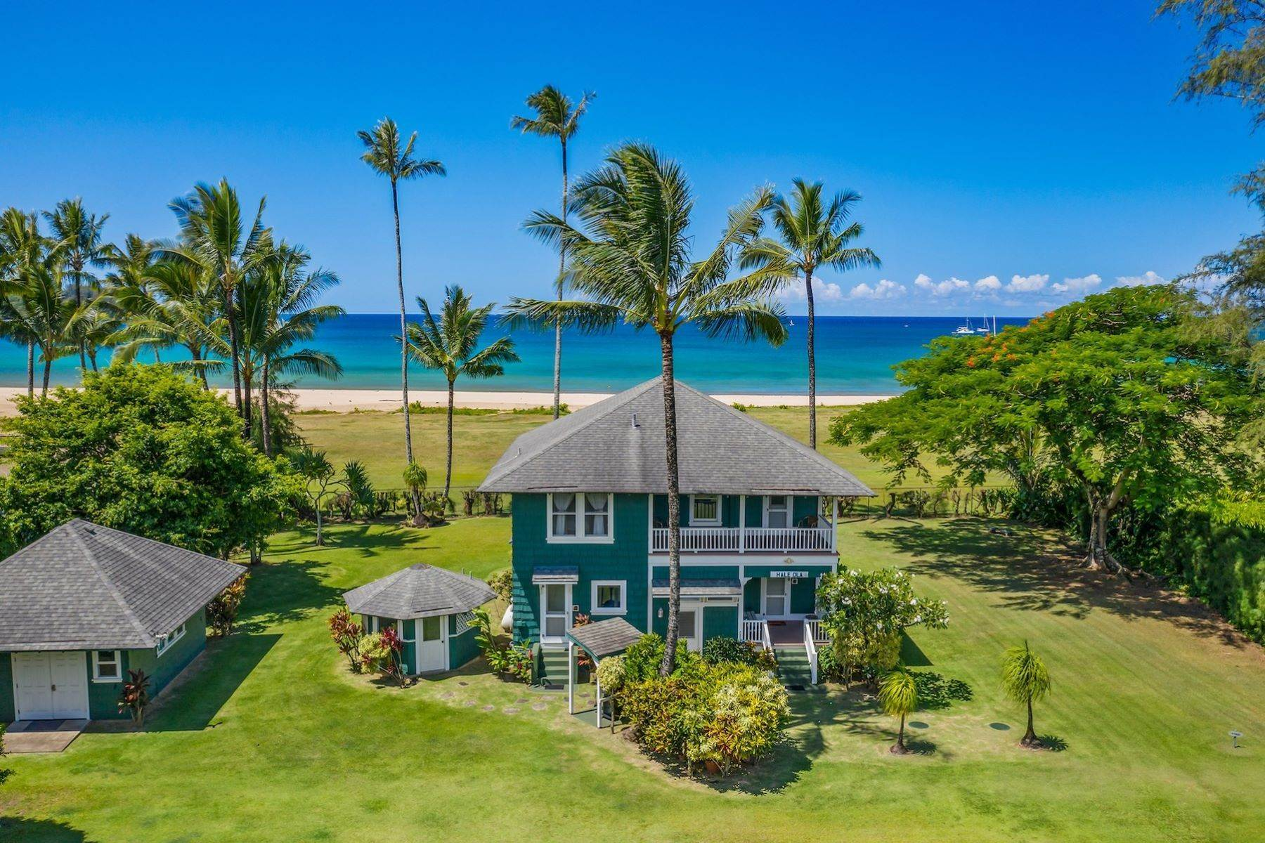 Single Family Homes per Vendita alle ore 5372 WEKE RD #2 HANALEI, HI 96714 Hanalei, Hanalei, Hawaii, 96714 Stati Uniti