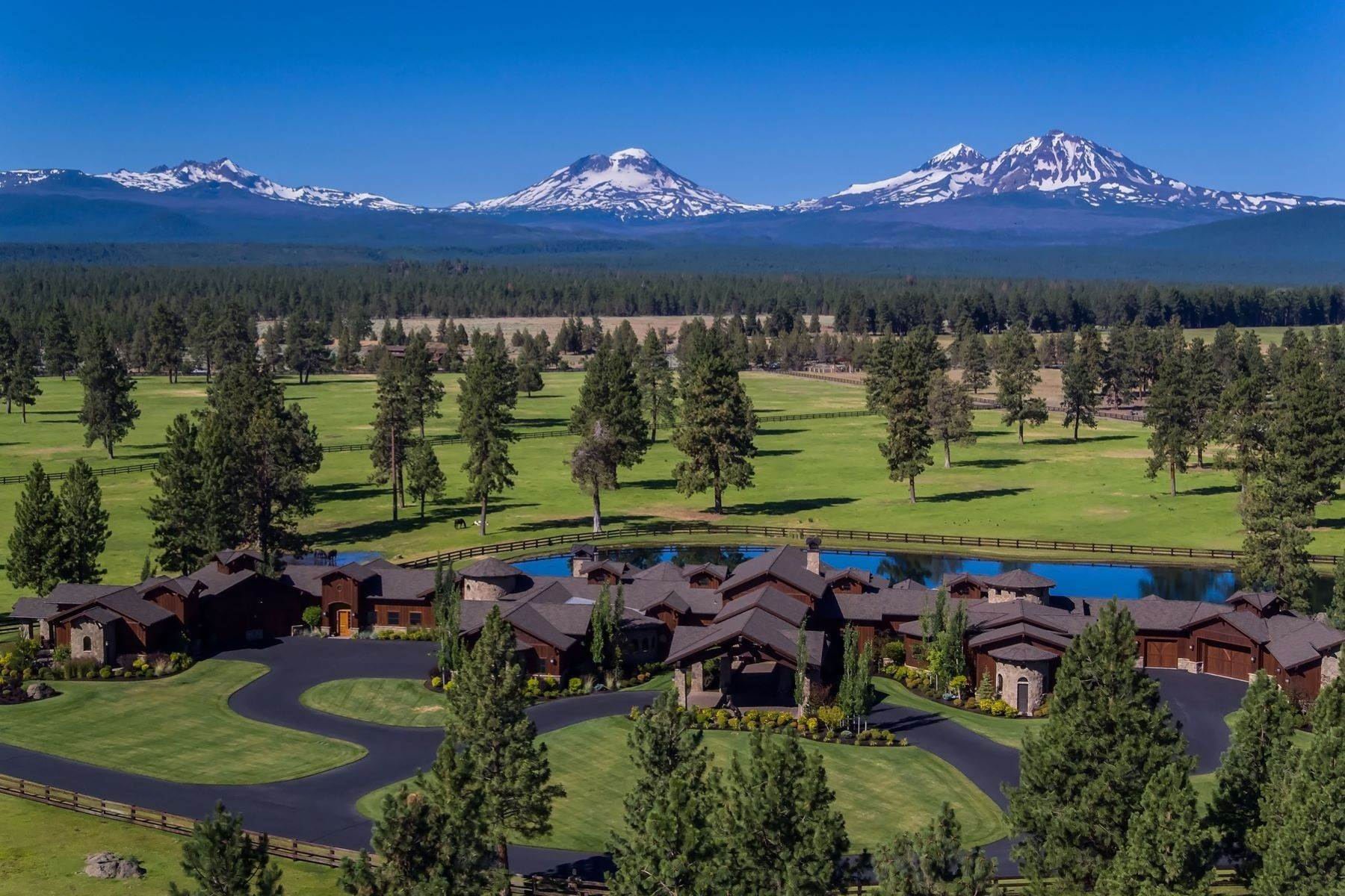 Other Residential Homes pour l Vente à 16400 Jordan Road Sisters, OR 97759 Sisters, Oregon, 97759 États-Unis